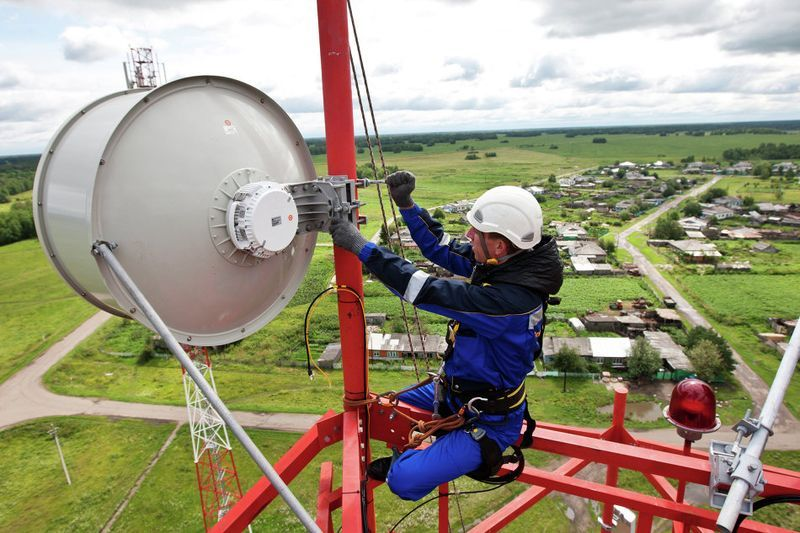 Монтаж оборудования связи на объектах